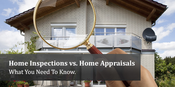 Home Inspections versus Home Appraisals