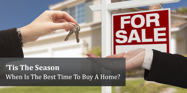 'Tis The Season: When Is The Best Time To Buy A Home?