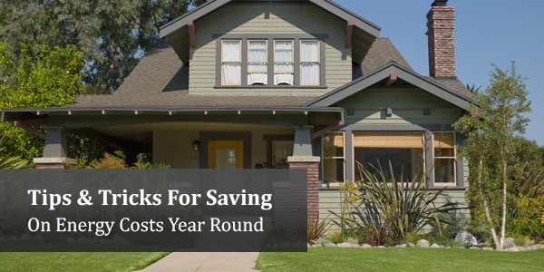 Tips & Tricks For Saving On Energy Costs Year Round