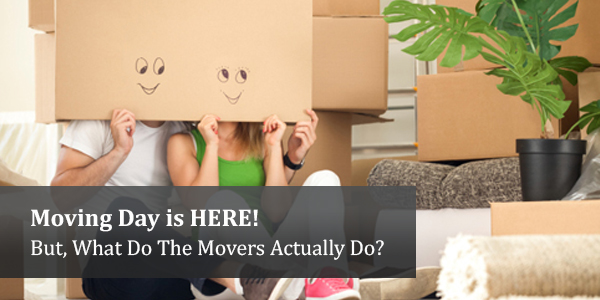 Moving Day is HERE! But, What Do The Movers Actually Do?